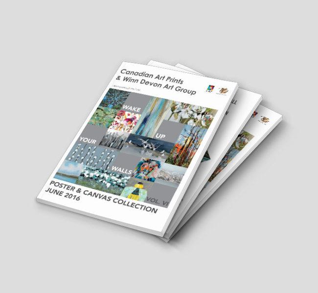 Gabellare | Graphic design portfolio & shop of Genesis Alvarez | 2016 Art Print Catalogue Release designs for Cap & Winn Devon