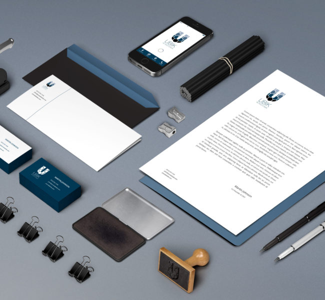 Gabellare | Graphic design portfolio & shop of Genesis Alvarez | Brand identity, branding concept and logo design for UBIK in Yaletown.