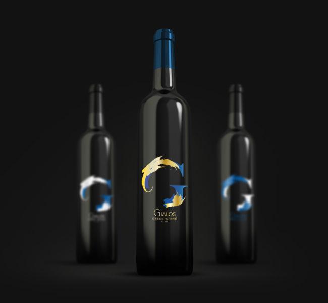 Gabellare | Graphic design portfolio & blog of Genesis Alvarez | Original packaging design for the amazing greek wine, Gialos.