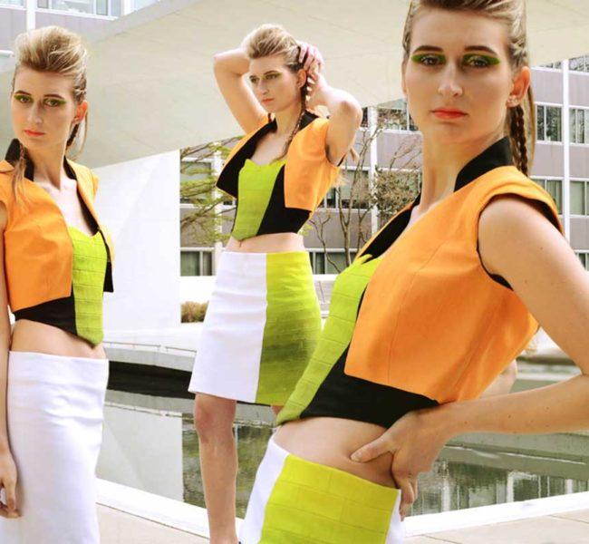 Gabellare | Graphic design portfolio & shop of Genesis Alvarez | Nathaly Barberi fashion runway collection and photoshoot.