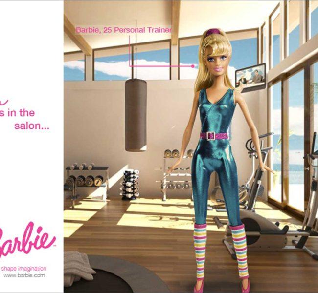 Gabellare | Graphic design portfolio & shop of Genesis Alvarez | Barbie Advertising Campaign. Empowering girls on empowering jobs.