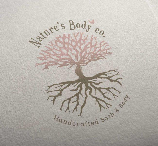 Gabellare | Graphic design portfolio & shop of Genesis Alvarez | Brand identity, branding concept and logo design for Nature's Body Co.