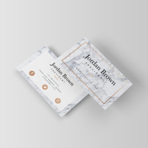 White Pebble | Business Card