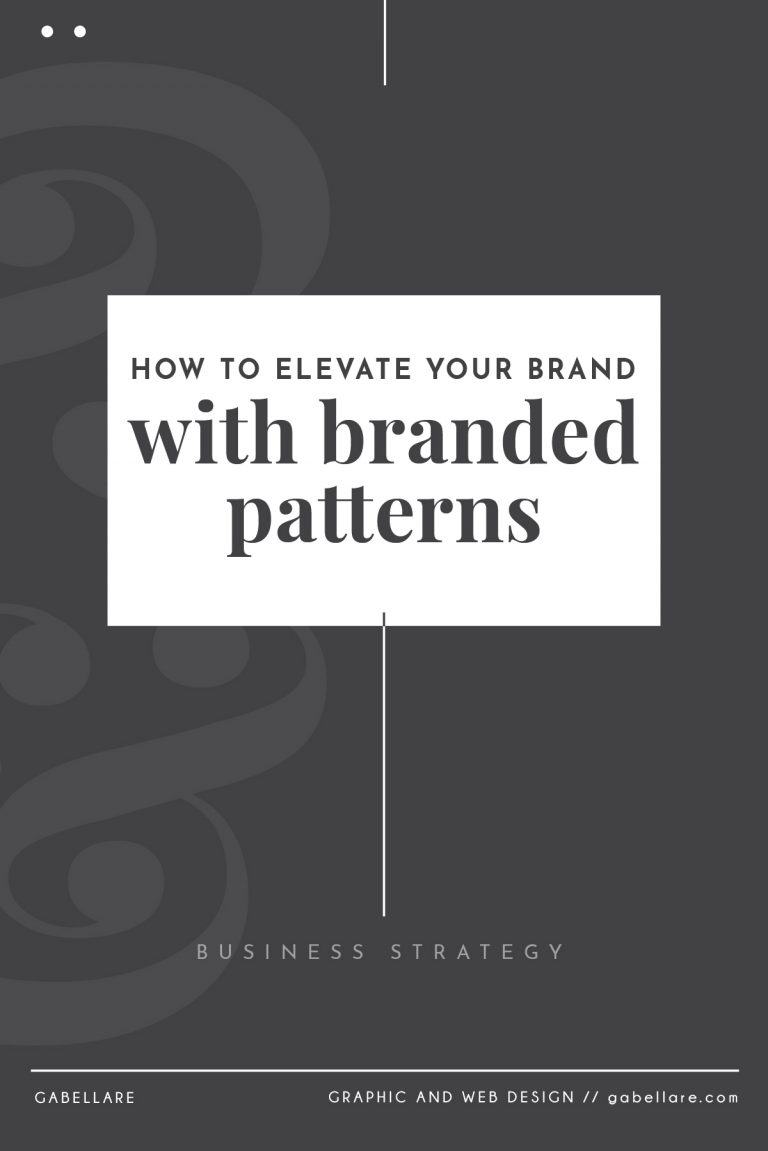 How to elevate your business with branded patterns?