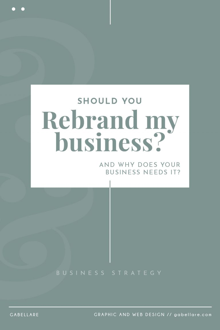 Should you rebrand? And does your business needs it?