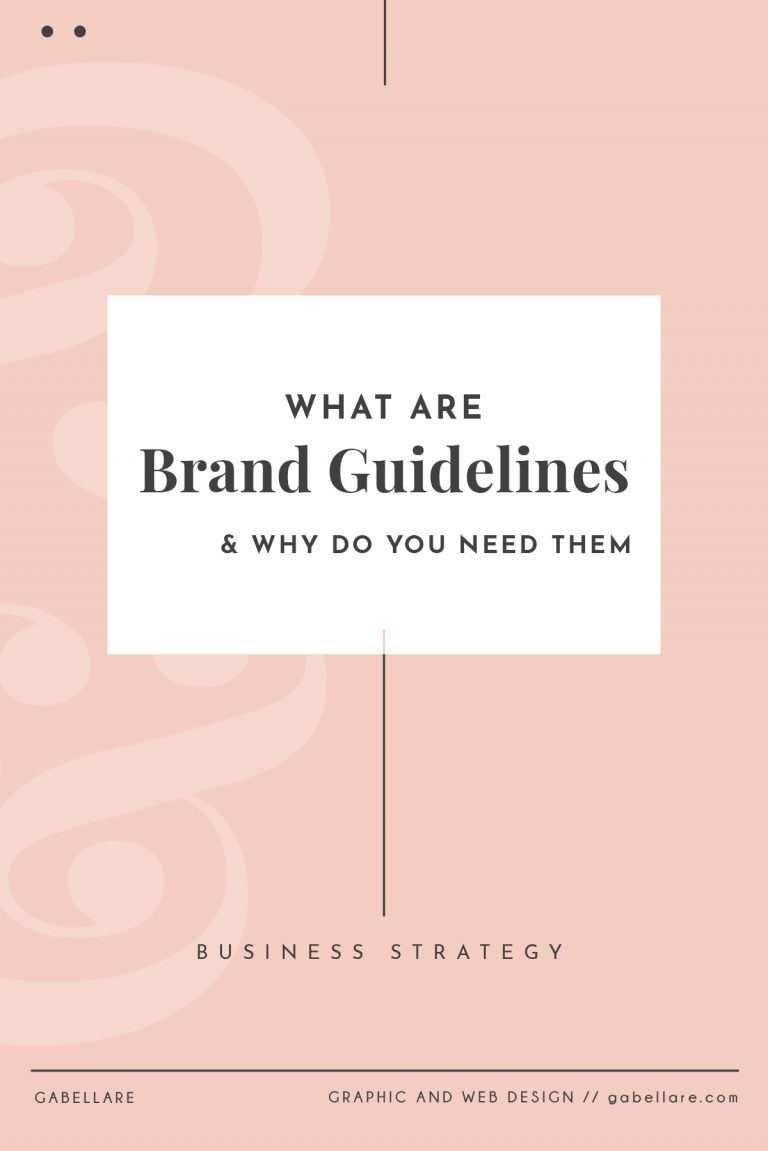 What are Brand Guidelines, and why do you need them?
