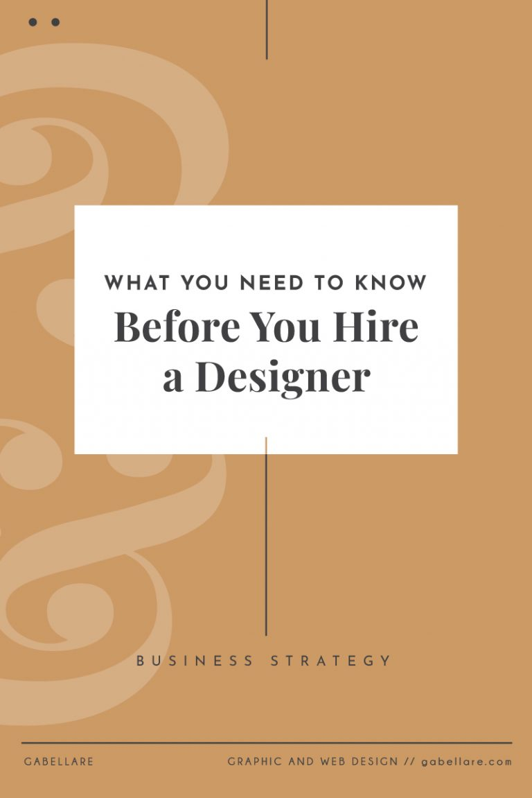 What You Need to Know Before You Hire a Designer