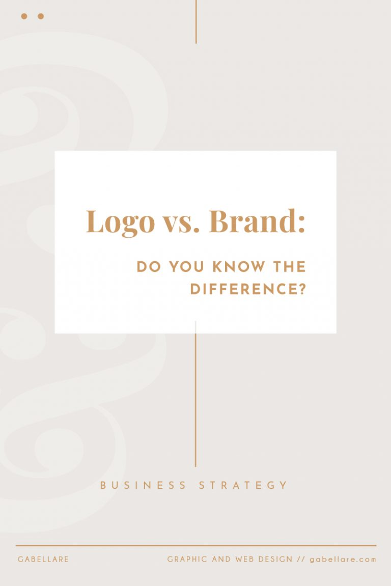 Logo vs. Brand: Do you know the difference?