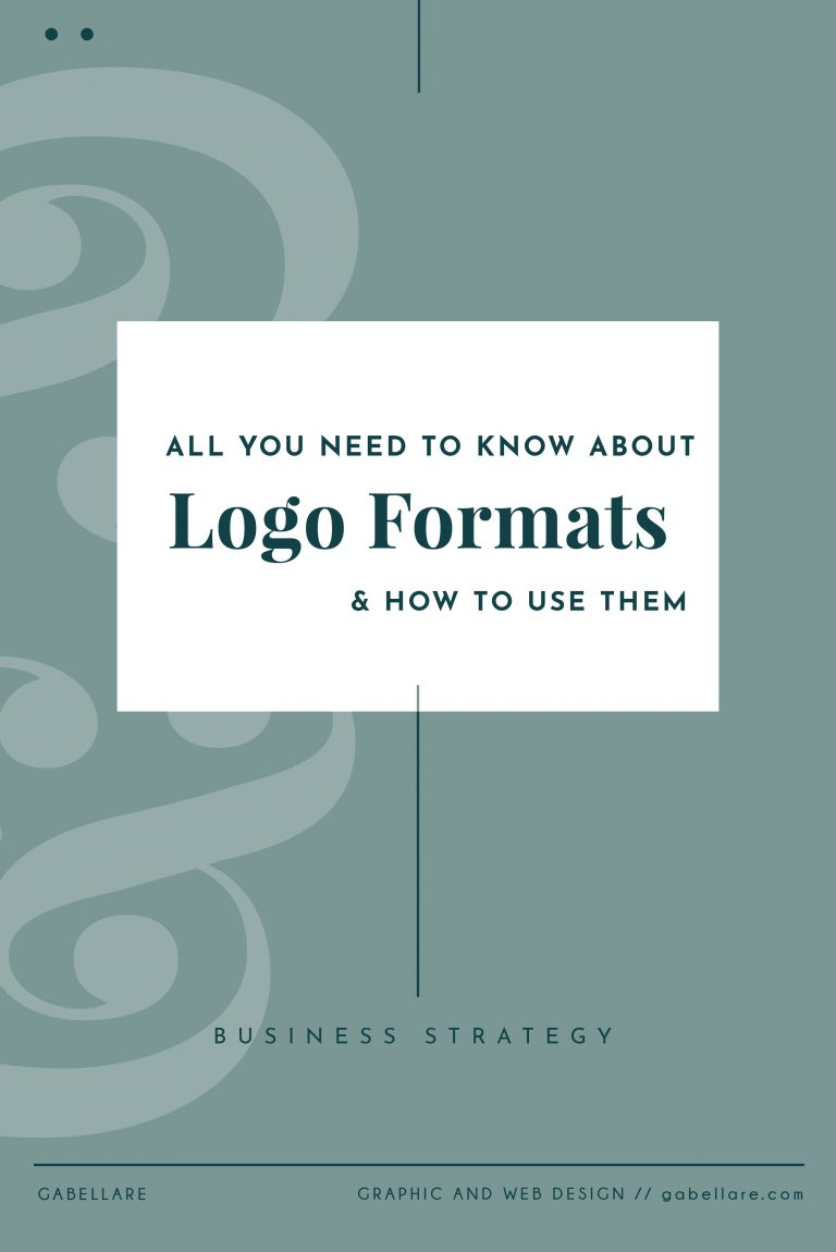 Logo File Formats: Everything you Need to Know About Them