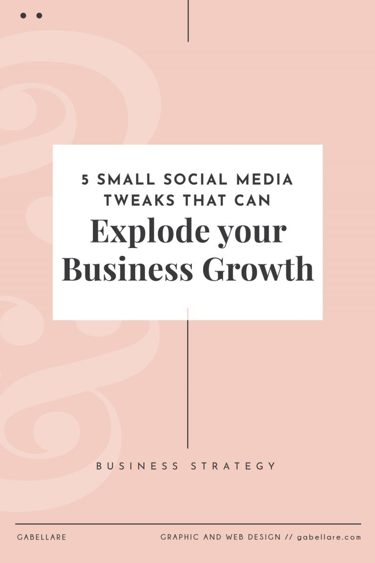 5 Small Social Media Tweaks that can Explode your Business Growth