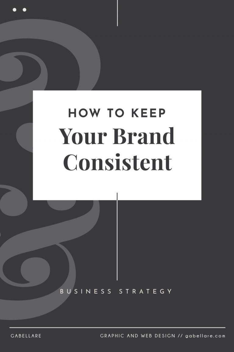 How to Keep Your Brand Consistent?